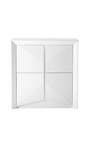 CAMINO A CASA - Aparador diseño 4 Puertas Blanco Lacado ARC ...