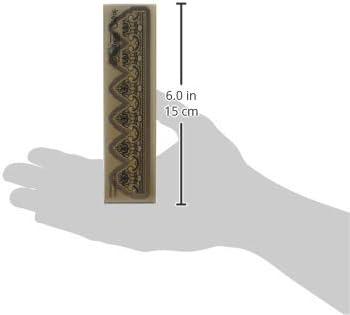 Gold Sizzix 3-D Impresslits Embossing Folder