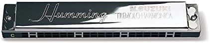 Suzuki Humming-Tremolo-21-D-Minor Harmonica