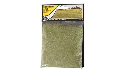 Woodland Scenics FS619 Static Grass, Light Green 4mm