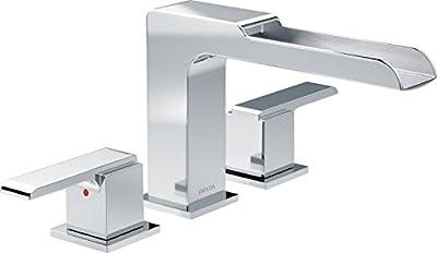 Delta Faucet T2768 Ara Roman Bathtub Waterfall Faucet, Chrome