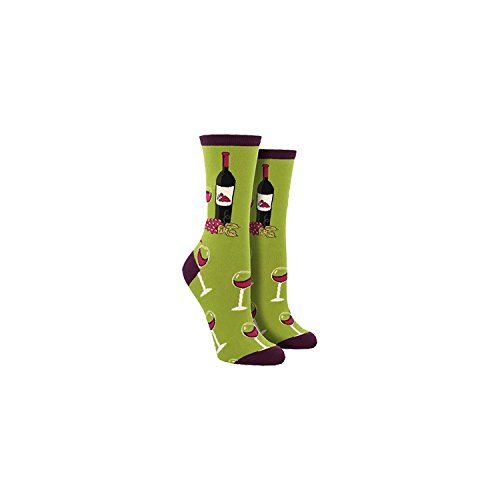 Socksmith-Ladies-Wine-Scene-Novelty-Sock