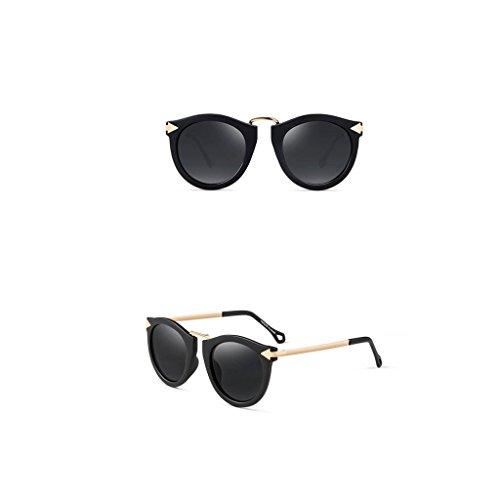 A C Mujer Color UV Gafas Protección Gafas de Sol Gafas de Retro Espejados sol x17a0qFO