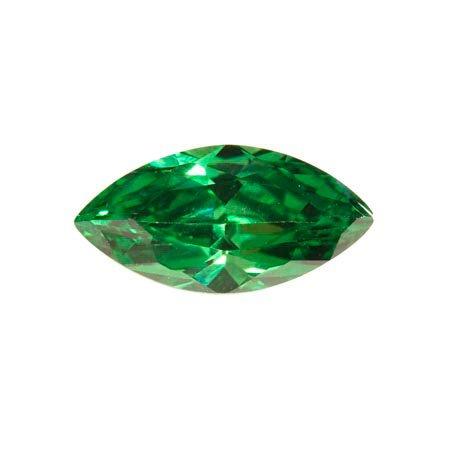 WireJewelry 14x7mm Marquise Emerald Green Cz - Pack of 1