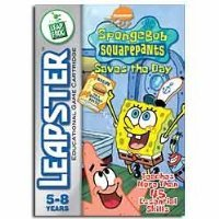 Leapster Educational Car (LeapFrog Leapster Learning Game SpongeBob SquarePants Saves the Day)
