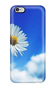 7406920K23832638 New Arrival Cover Case With Nice Design For Iphone 6 Plus- Beautiful Sky White Flower