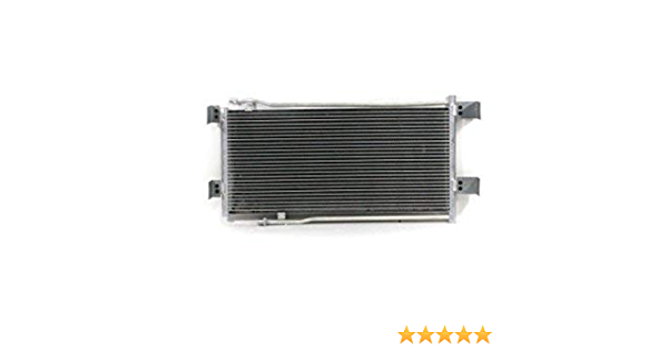 AC Condenser PACIFIC BEST INC Fit//Replacement For 4381 93-95 Voyager Town and Country Dodge Caravan 4644365