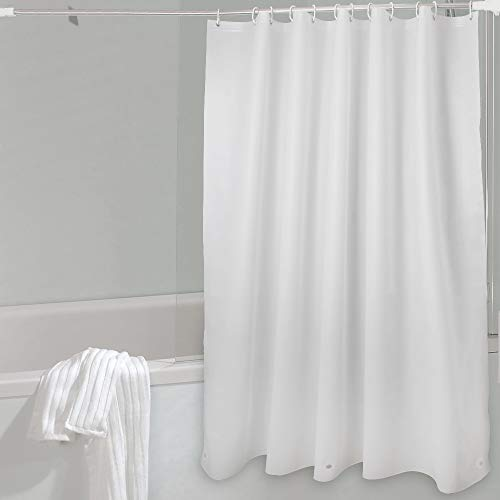 WELTRXE Shower Curtain Liner PEVA 8G Mildew Resistant Anti-Bacterial Bathroom Shower Curtains Magnets No Smell Waterproof Shower Liner Bathtubs,Shower Stall,Bathrooms,72 x 72 Frosted,12 Rings by WELTRXE