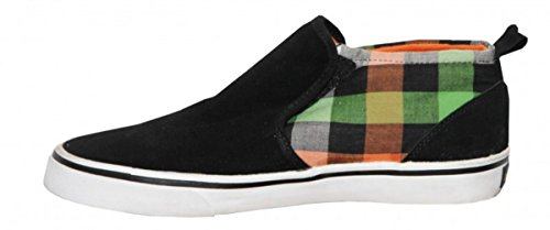 Vox Skate Shoes Modelo Black/ Orange/Hunter