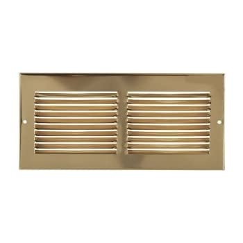 30 Quot X 6 Quot Brass Cold Air Return Vent Cover Grille