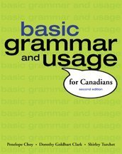 Basic Grammar and Usage for Canadians