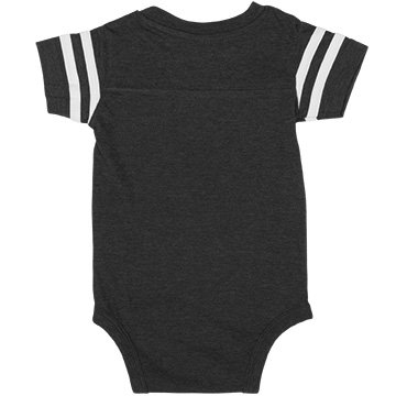 My Mom Says I'm A Steelers Fan:Infant Rabbit Skins Football Bodysuit