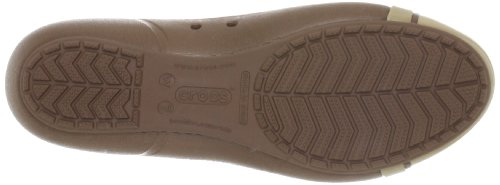 Cap Zuecos Toe de Flat Crocs sint material 6wgZ8AAnq