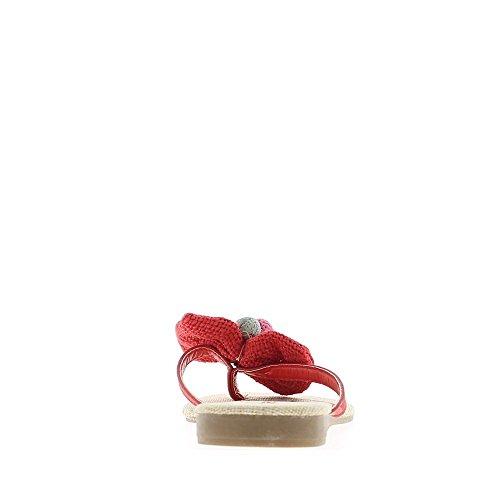 A piedi nudi per talonette di 1 cm arancio