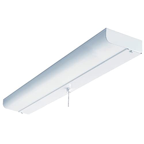 Incroyable Lithonia Lighting CUC8 17 120 LP S1 M4 24 Inch 1 Light Flush Mount  Fluorescent Ceiling Closet Light, White