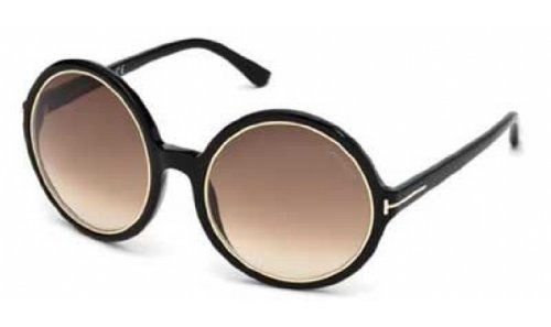 Tom Ford Sunglasses TF 268 BLACK 01F - 2013 Ford Sunglasses Tom