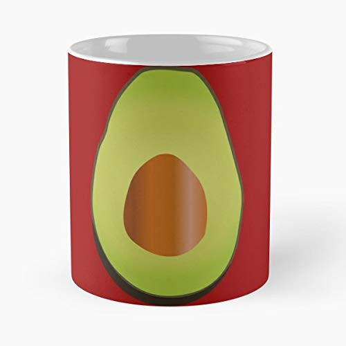 Avocado Fruit Vegetab - 11 Oz Coffee Mugs Ceramic