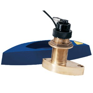 B744V Bronze Thru-Hull e7D Transducer with Fairing Block (B744v Bronze Thru Hull)