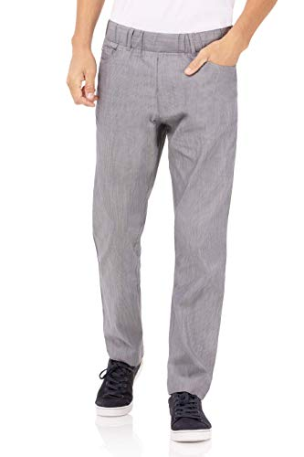 Chef Works Men's Vertical Stripe Pant