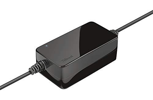 Trust Primo - Cargador Universal para Ordenador portátil de 45 W, Color Negro