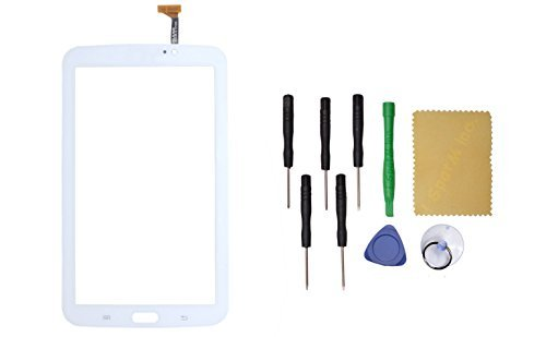 White Touch Screen Digitizer Replacement for Samsung Galaxy TAB 3 SM-T210R 7'' by I Spot M Inc