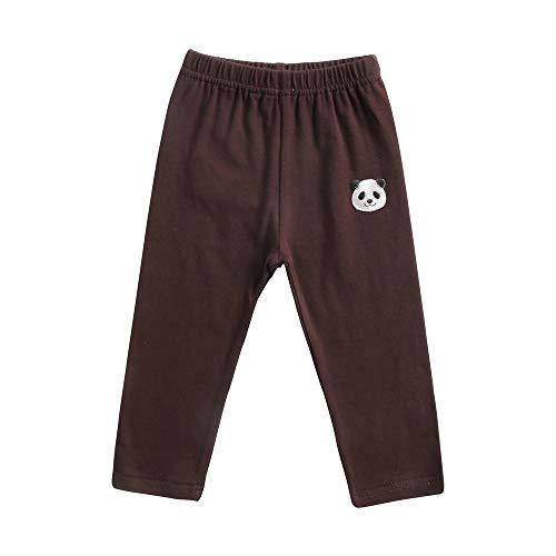 (Sanlutoz Cartoon Panda Toddler Boys Girls Leggings Unisex Baby Cotton Pants Colorful (3-4 Years / 110cm, KPW8119-BN))