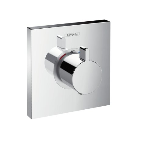 Hansgrohe Thermostat Unterputz ShowerSelect Highflow Fertigset chrom, 15760000 by Hansgrohe