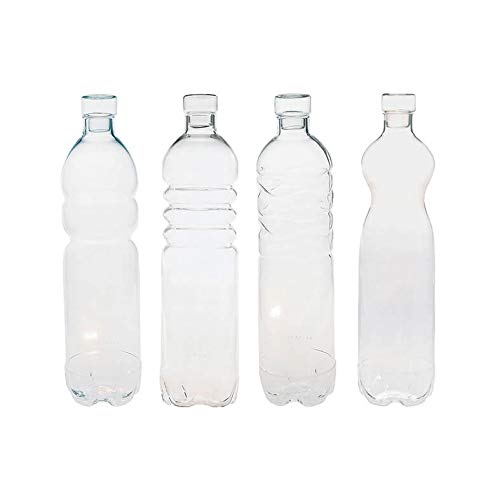 Seletti Estetico Quotidiano - The Bottles Set 4 pieces White by Seletti