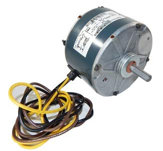 (Carrier Condensor Electric Motor (5KCP39BGS069S) 1/10hp, 1100 RPM, 208-230V Fasco #)
