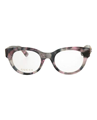 Gucci GG 0209O 003 Pink/Grey Havana Plastic Fashion Eyeglasses 48mm