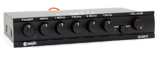 16-EQ50 - Memphis Five Band Graphic Equalizer EQ50