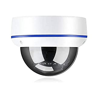 POE IP Camera, HD Dome Surveillance Video Supports ONVIF with Motion Detection, App Alarm Push, IP66 Waterproof for Outdoor/Indoor(3MP IP)