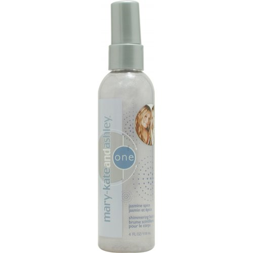 Mary Kate And Ashley No.1 Jasmine Spice Shimmering Body Mist for Women, 4 Ounce (Ashley One Jasmine Spice)