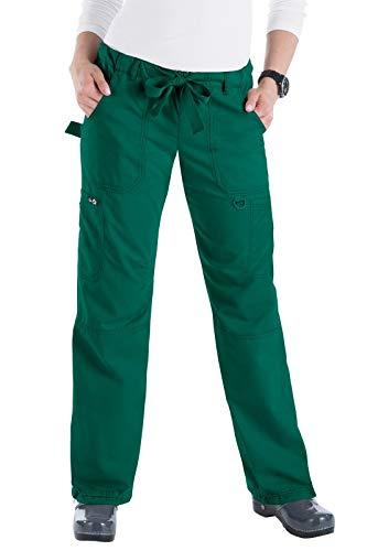 KOI 701 Women's Lindsey Pant (Sage, XX-Small - Front Scrub Pant Seam