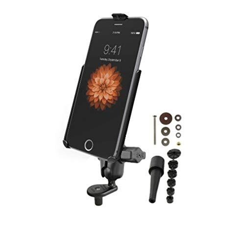 Ram Mount Bicycle (RAM Short Arm Fork Stem Bike Motorcycle Mount Holder for Apple iPhone 6 & 7 Plus)
