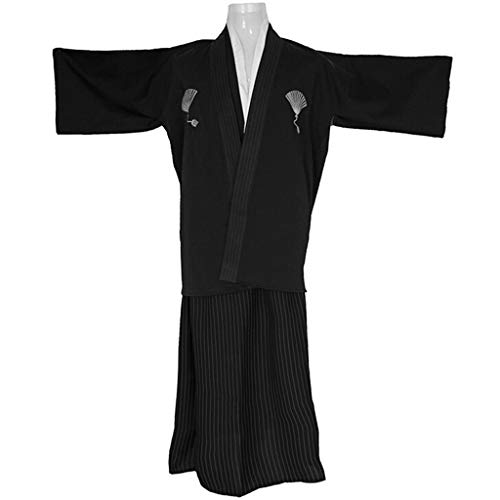 Dance Costumes Payment Policy - lotteQW Mens Boys Japanese Traditional Samurai Men Kimono Warrior Robe Outfit Costume