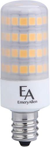 Emery Allen EA-E12-5.0W-001-309F-D Dimmable Candelabra Base JA8 Compliant LED Light Bulb, 120V-5Watt (50W Equivalent) 550 Lumens, 3000K, 1 Pcs