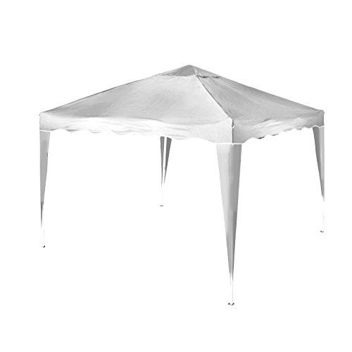 Vanage Pavillon Aluminium-Faltpavillon Stella inklusive 0 Seitenteilen, weiß