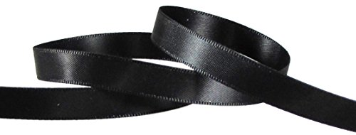 100% Silk Satin Ribbon (Hipgirl Wholesale Bulk 100 Yard 3/8