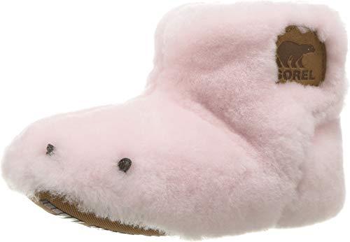 SOREL Kids Baby Girl's Bear Paw Slipper (Toddler) Dusty Pink/Elk 5 M US Toddler