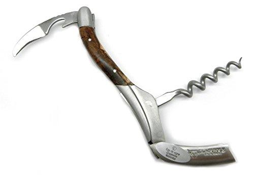 Laguiole en Aubrac Sommelier Knife, Grape Vine handle, Sandvik steel SOM99CVI by Laguiole en Aubrac