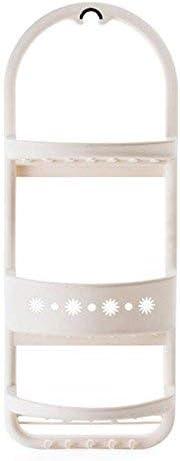 収納ラック棚 キッチンバスルームバスルーム棚収納ラック寝室パーラー収納ラック冷蔵庫マルチレベル仕上げラックLo516303 家のホテルの装飾のため (色 : White)