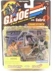NUNCHUK & FIREFLY / GI JOE VS COBRA Spy Troops 2-pack / 2002