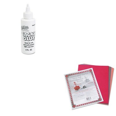 KITCKC3375PAC103637 - Value Kit - Chenille Kraft Kraft Tacky Glue (CKC3375) and Pacon Riverside Construction Paper (PAC103637)