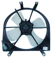 TYC 600070 Honda Civic Replacement Radiator Cooling Fan (Honda Civic Radiator Fan Assembly)