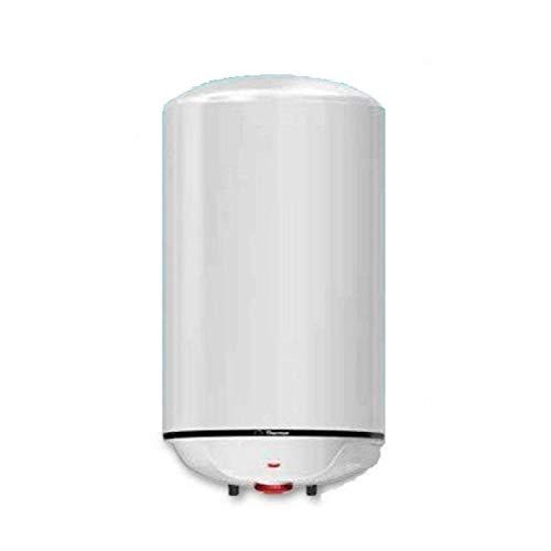Termo electrico Concept N4 100 L para agua caliente sanitaria, instalacion vertical, capacidad de 100 litros, termostato exterior, 43 x 45 x 101 centimetros, color blanco (Referencia 261