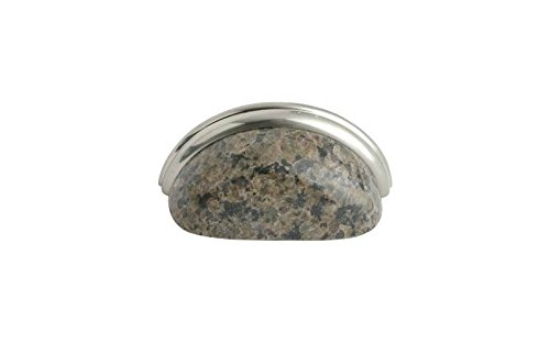 3.75 in. Granite Cup Pull (Set of ()