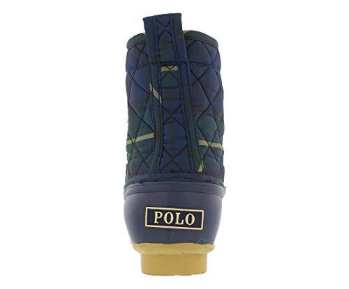 Pictures of Polo Ralph Lauren Kids Boys' 993520 Lace- EWAN NAVY TARTAN PLAID MATERL 2
