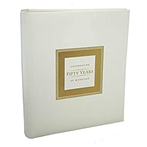50th Anniversary Memory Book for 50th Wedding Anniversary Party