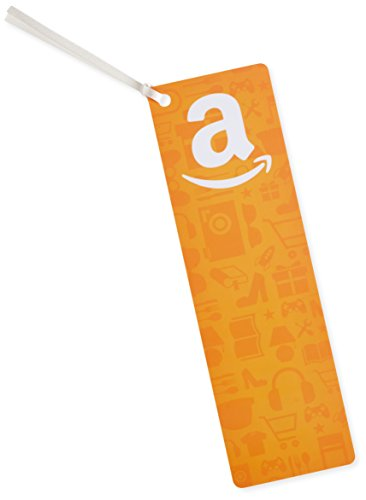 Amazon.com $25 Gift Card as a Bookmark (Amazon Icons Design)